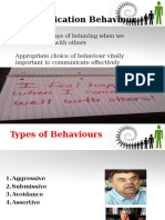 5. Behaviors (1)