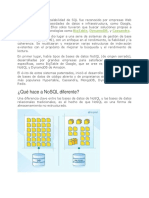 El Problema de La Escalabilidad de SQL Fue Reconocido Por Empresas Web 2