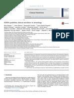 ESPEN Guideline Clinical Nutrition in Neurology 2018