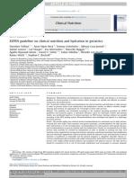ESPEN Guidelines on Parenteral Nutrition. Intensive Care 2009