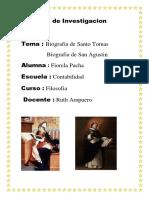 Caratula de Santo Tomas