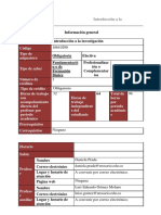 (G3) Programa Introducción a la investigación Jurisprudencia