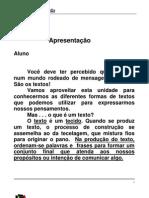Apostila Ensino Fundamental  CEESVO - Português 01