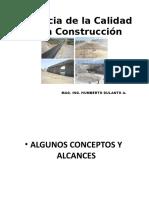 Gerencia Calidad en La Construcción