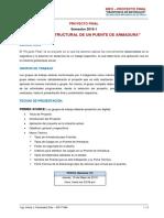 Informativo_PROYECTO _Resistencia de Materiales - Puente de Armadura