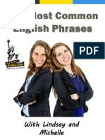 100 Most Common English Phrases Final eBook Edited as of May 2015