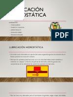 Lubricación Hidrostática.pptx