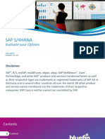 How to SAP S4HANA Evaluate Your Options