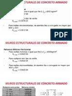 Concreto II - Muros Estructurales - Placas