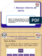 manejo interno de datos