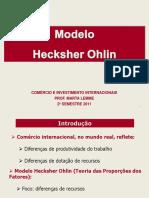 Modelo Hecksher Ohlin