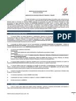 Edital Normativo Concurso Publico 001 Cuite