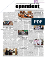 Daily Independent Islamabad - 31 May 2019