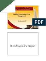CM 658 Construction Time Management