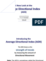 Chuck LeBeau - ADX ( Average Directional Index Presentation)