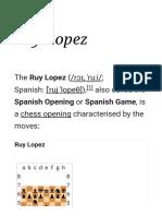 Ruy Lopez - Wikipedia