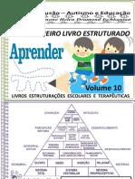 Volume 10 Meu Primeiro Livro Estruturado Jogo Das Cores e Palavras