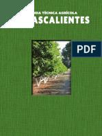 Suelos Agrícolas en el estado de Aguascalientes, México - 2015 SIN
