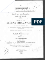 IndexToSrimadBhagavatam Text