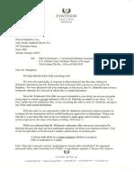 EXH D ROBINSON Letter to Babalola Regarding Settlement