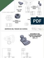 Ensamble de Tensor de Correa(PLANOS ) 2
