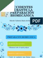 Accidentes Durante La Preparación Biomecánica