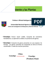 El ambiente y las plantas