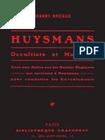 Bricaud Huysmans