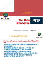 3. Leadership Chapter - The Nature of Managerial Work