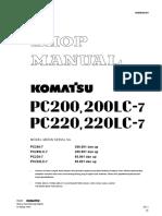 Shop Manual PC200 7 Translate Indonesia