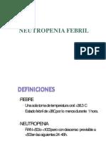 Clase 12 Neutropenia Febril UPC (Listo)