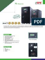 PB Series 5-15KVA Catalogue