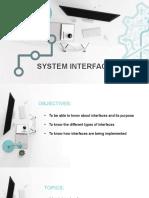 System Interface