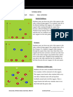 football tutorial notes week 2