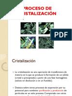 2- Proceso de Cristalización