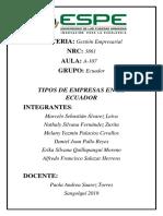 Ecuador Tipos de Empresas