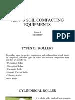 Heavy compaction equipment