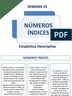 SEMANA 15 - Números Indices