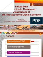 Linked Data for Thai Academic Digital Collection