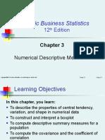254361109 Chapter 3 Numerical Descriptive Measures