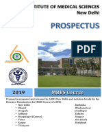 Aiims Mbbs Brochure