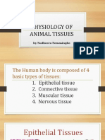 Physiology of Animal Tissues