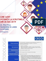Ires_profilul Votantilor La Scrutinele Din 26 Mai 2019_iii_politica-Incredere in Lideri Si Interes