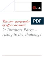 JLL Business Parks - Rising to the Challenge 2014