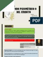 Modelo Psicométrico Expo Medición