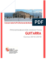 Programacion Guitarra 2018-19
