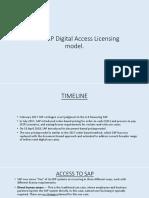 SAP New Digital Access Licensing