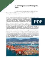 Planeamiento Estratégico y Funciones de Los Principales Puertos Del Perú.doc