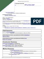BindException (Spring Framework API 2