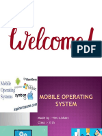 mobile operating systerm